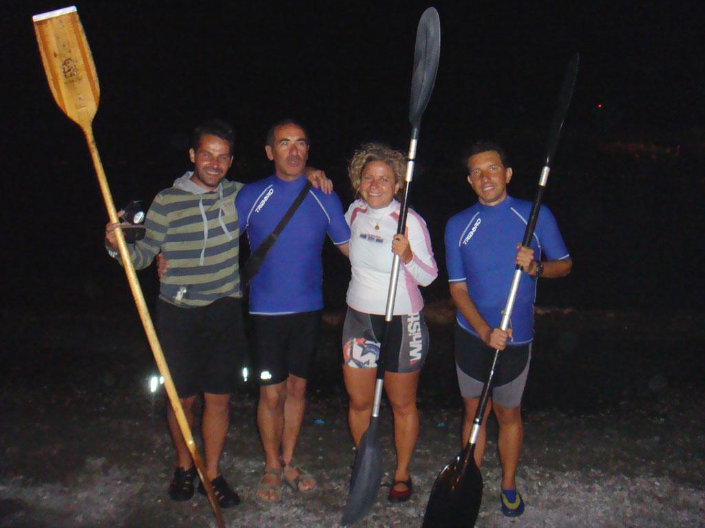 Escursione nottorna  in Kayak in costiera Amalfitana