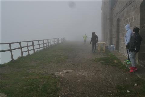 TRAIL di PIZZO San Michele N°3157 FOTO scattate a raffica in VETTA da Peppe Dalessio con nebbia e gran freddo - foto 19