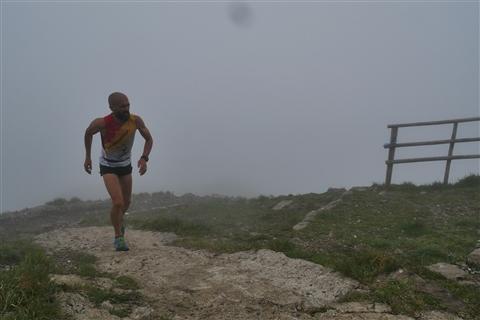 TRAIL di PIZZO San Michele N°3157 FOTO scattate a raffica in VETTA da Peppe Dalessio con nebbia e gran freddo - foto 21