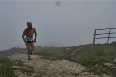 TRAIL di PIZZO San Michele N°3157 FOTO scattate a raffica in VETTA da Peppe Dalessio con nebbia e gran freddo - foto 22