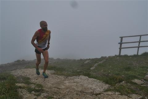 TRAIL di PIZZO San Michele N°3157 FOTO scattate a raffica in VETTA da Peppe Dalessio con nebbia e gran freddo - foto 24