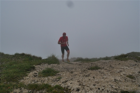 TRAIL di PIZZO San Michele N°3157 FOTO scattate a raffica in VETTA da Peppe Dalessio con nebbia e gran freddo - foto 43