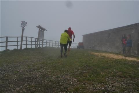 TRAIL di PIZZO San Michele N°3157 FOTO scattate a raffica in VETTA da Peppe Dalessio con nebbia e gran freddo - foto 72