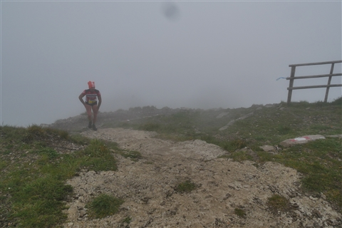 TRAIL di PIZZO San Michele N°3157 FOTO scattate a raffica in VETTA da Peppe Dalessio con nebbia e gran freddo - foto 86