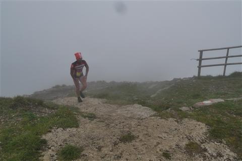 TRAIL di PIZZO San Michele N°3157 FOTO scattate a raffica in VETTA da Peppe Dalessio con nebbia e gran freddo - foto 99