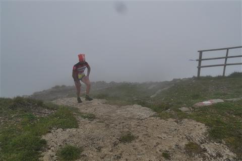 TRAIL di PIZZO San Michele N°3157 FOTO scattate a raffica in VETTA da Peppe Dalessio con nebbia e gran freddo - foto 100