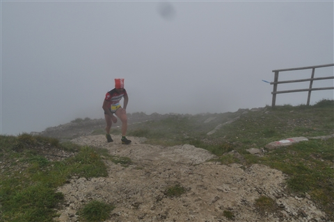 TRAIL di PIZZO San Michele N°3157 FOTO scattate a raffica in VETTA da Peppe Dalessio con nebbia e gran freddo - foto 101
