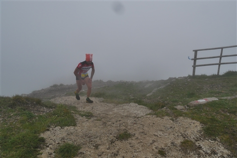 TRAIL di PIZZO San Michele N°3157 FOTO scattate a raffica in VETTA da Peppe Dalessio con nebbia e gran freddo - foto 102