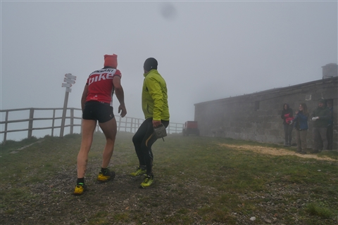 TRAIL di PIZZO San Michele N°3157 FOTO scattate a raffica in VETTA da Peppe Dalessio con nebbia e gran freddo - foto 127
