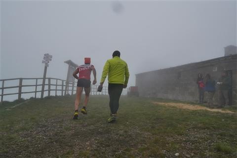 TRAIL di PIZZO San Michele N°3157 FOTO scattate a raffica in VETTA da Peppe Dalessio con nebbia e gran freddo - foto 134