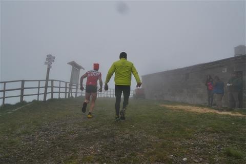 TRAIL di PIZZO San Michele N°3157 FOTO scattate a raffica in VETTA da Peppe Dalessio con nebbia e gran freddo - foto 136