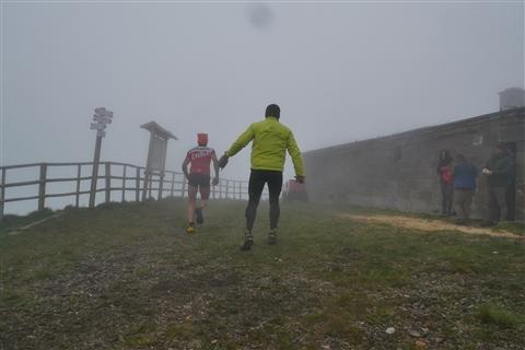 TRAIL di PIZZO San Michele N°3157 FOTO scattate a raffica in VETTA da Peppe Dalessio con nebbia e gran freddo - foto 139