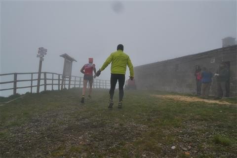 TRAIL di PIZZO San Michele N°3157 FOTO scattate a raffica in VETTA da Peppe Dalessio con nebbia e gran freddo - foto 140