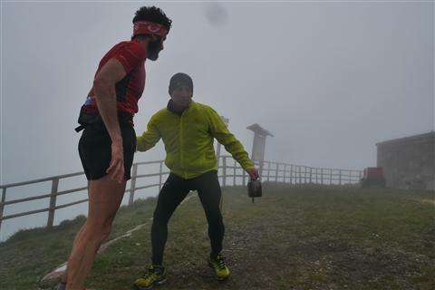 TRAIL di PIZZO San Michele N°3157 FOTO scattate a raffica in VETTA da Peppe Dalessio con nebbia e gran freddo - foto 175
