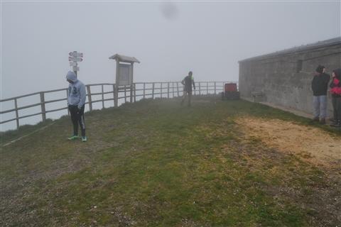 TRAIL di PIZZO San Michele N°3157 FOTO scattate a raffica in VETTA da Peppe Dalessio con nebbia e gran freddo - foto 325