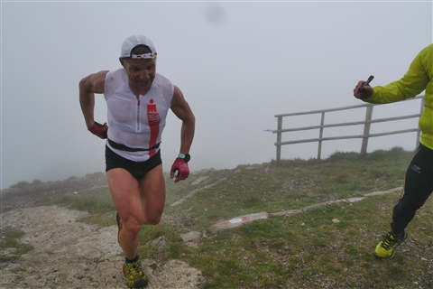 TRAIL di PIZZO San Michele N°3157 FOTO scattate a raffica in VETTA da Peppe Dalessio con nebbia e gran freddo - foto 353