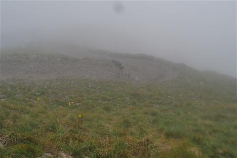 TRAIL di PIZZO San Michele N°3157 FOTO scattate a raffica in VETTA da Peppe Dalessio con nebbia e gran freddo - foto 382