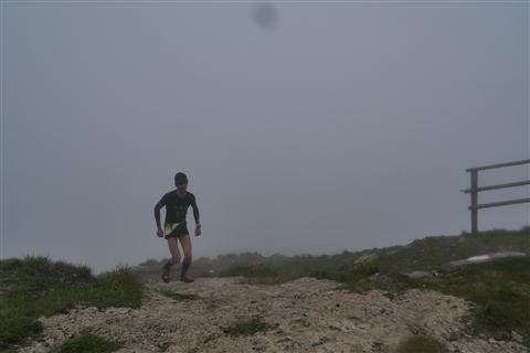 TRAIL di PIZZO San Michele N°3157 FOTO scattate a raffica in VETTA da Peppe Dalessio con nebbia e gran freddo - foto 387