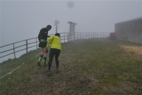 TRAIL di PIZZO San Michele N°3157 FOTO scattate a raffica in VETTA da Peppe Dalessio con nebbia e gran freddo - foto 415