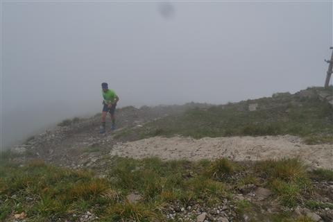 TRAIL di PIZZO San Michele N°3157 FOTO scattate a raffica in VETTA da Peppe Dalessio con nebbia e gran freddo - foto 427