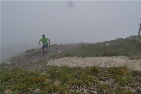 TRAIL di PIZZO San Michele N°3157 FOTO scattate a raffica in VETTA da Peppe Dalessio con nebbia e gran freddo - foto 429