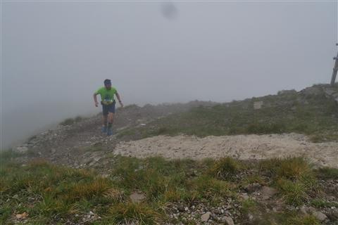 TRAIL di PIZZO San Michele N°3157 FOTO scattate a raffica in VETTA da Peppe Dalessio con nebbia e gran freddo - foto 430