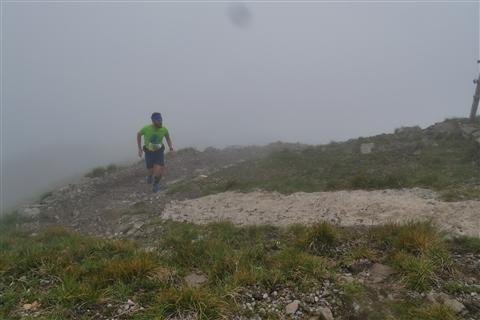 TRAIL di PIZZO San Michele N°3157 FOTO scattate a raffica in VETTA da Peppe Dalessio con nebbia e gran freddo - foto 431