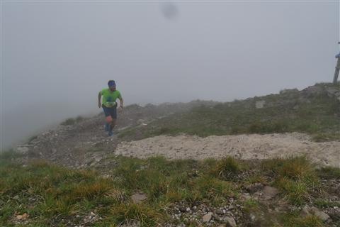 TRAIL di PIZZO San Michele N°3157 FOTO scattate a raffica in VETTA da Peppe Dalessio con nebbia e gran freddo - foto 432