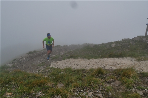 TRAIL di PIZZO San Michele N°3157 FOTO scattate a raffica in VETTA da Peppe Dalessio con nebbia e gran freddo - foto 434