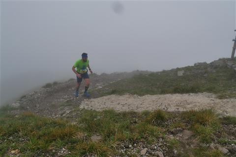 TRAIL di PIZZO San Michele N°3157 FOTO scattate a raffica in VETTA da Peppe Dalessio con nebbia e gran freddo - foto 436
