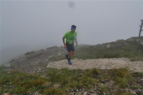 TRAIL di PIZZO San Michele N°3157 FOTO scattate a raffica in VETTA da Peppe Dalessio con nebbia e gran freddo - foto 446