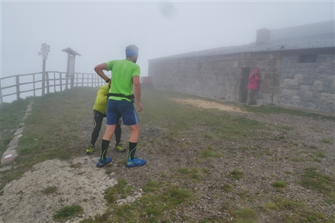 TRAIL di PIZZO San Michele N°3157 FOTO scattate a raffica in VETTA da Peppe Dalessio con nebbia e gran freddo - foto 456