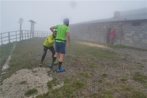 TRAIL di PIZZO San Michele N°3157 FOTO scattate a raffica in VETTA da Peppe Dalessio con nebbia e gran freddo - foto 458