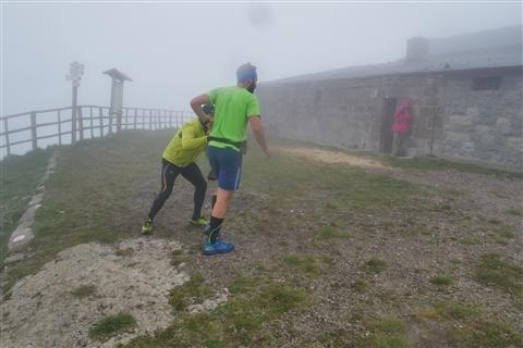 TRAIL di PIZZO San Michele N°3157 FOTO scattate a raffica in VETTA da Peppe Dalessio con nebbia e gran freddo - foto 459