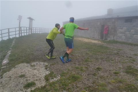 TRAIL di PIZZO San Michele N°3157 FOTO scattate a raffica in VETTA da Peppe Dalessio con nebbia e gran freddo - foto 462