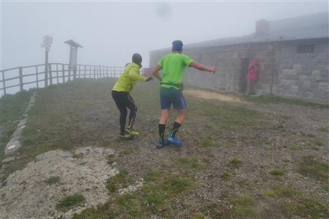 TRAIL di PIZZO San Michele N°3157 FOTO scattate a raffica in VETTA da Peppe Dalessio con nebbia e gran freddo - foto 463