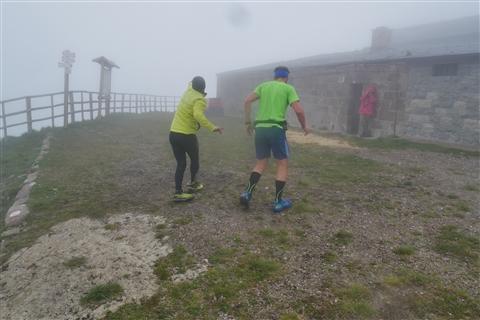 TRAIL di PIZZO San Michele N°3157 FOTO scattate a raffica in VETTA da Peppe Dalessio con nebbia e gran freddo - foto 465