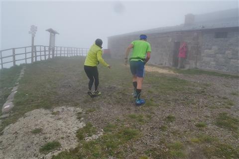 TRAIL di PIZZO San Michele N°3157 FOTO scattate a raffica in VETTA da Peppe Dalessio con nebbia e gran freddo - foto 466