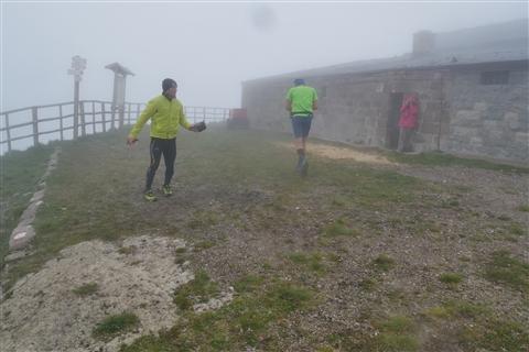 TRAIL di PIZZO San Michele N°3157 FOTO scattate a raffica in VETTA da Peppe Dalessio con nebbia e gran freddo - foto 476