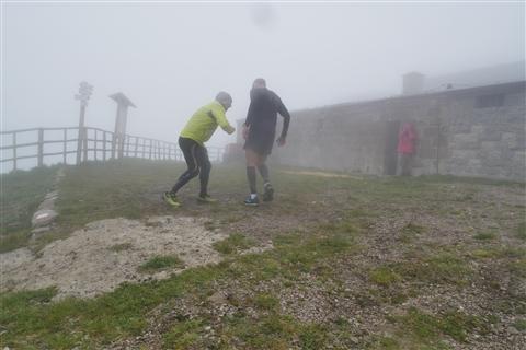 TRAIL di PIZZO San Michele N°3157 FOTO scattate a raffica in VETTA da Peppe Dalessio con nebbia e gran freddo - foto 500