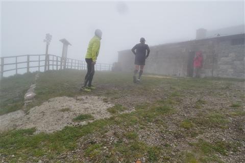 TRAIL di PIZZO San Michele N°3157 FOTO scattate a raffica in VETTA da Peppe Dalessio con nebbia e gran freddo - foto 507