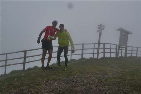 TRAIL di PIZZO San Michele N°3157 FOTO scattate a raffica in VETTA da Peppe Dalessio con nebbia e gran freddo - foto 582