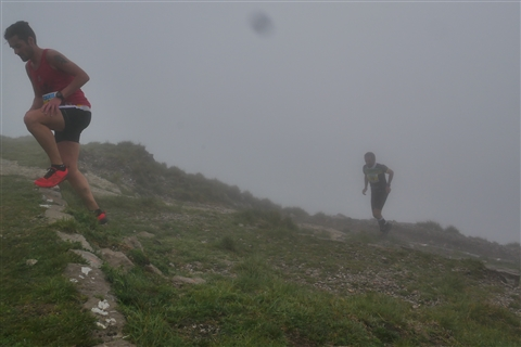 TRAIL di PIZZO San Michele N°3157 FOTO scattate a raffica in VETTA da Peppe Dalessio con nebbia e gran freddo - foto 619