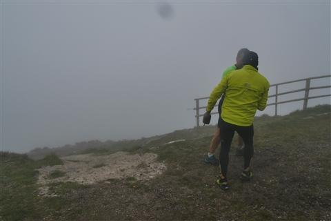 TRAIL di PIZZO San Michele N°3157 FOTO scattate a raffica in VETTA da Peppe Dalessio con nebbia e gran freddo - foto 789