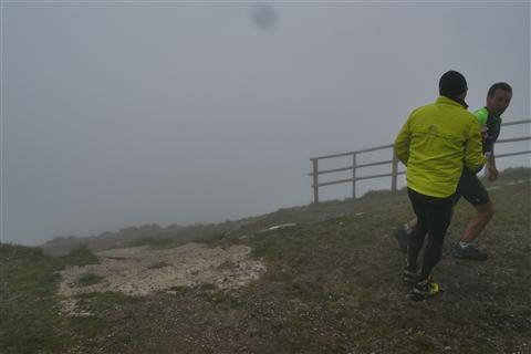 TRAIL di PIZZO San Michele N°3157 FOTO scattate a raffica in VETTA da Peppe Dalessio con nebbia e gran freddo - foto 794