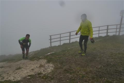 TRAIL di PIZZO San Michele N°3157 FOTO scattate a raffica in VETTA da Peppe Dalessio con nebbia e gran freddo - foto 829