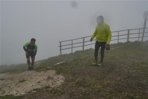 TRAIL di PIZZO San Michele N°3157 FOTO scattate a raffica in VETTA da Peppe Dalessio con nebbia e gran freddo - foto 830