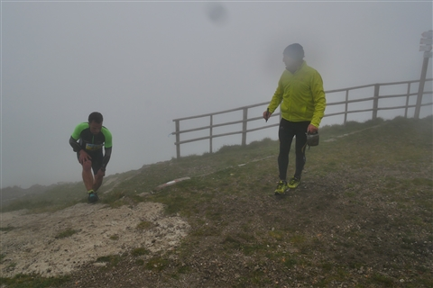 TRAIL di PIZZO San Michele N°3157 FOTO scattate a raffica in VETTA da Peppe Dalessio con nebbia e gran freddo - foto 831