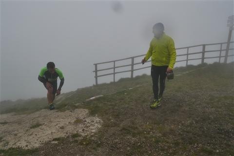 TRAIL di PIZZO San Michele N°3157 FOTO scattate a raffica in VETTA da Peppe Dalessio con nebbia e gran freddo - foto 832