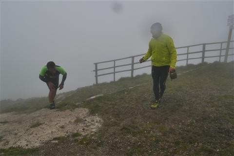 TRAIL di PIZZO San Michele N°3157 FOTO scattate a raffica in VETTA da Peppe Dalessio con nebbia e gran freddo - foto 833